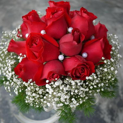 BBR  58Bridal Bouquet