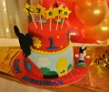 3D 02 Mickey Mouse Cake