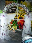 WD 09  Flower Arch (Artificial )
