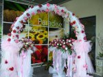 WD 07 Arch & Flower Stand